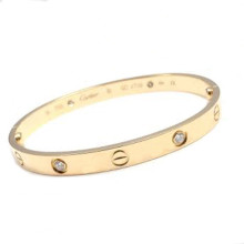 cartier love bangle with diamonds