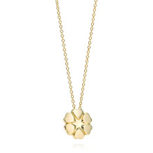 Paloma Picasso Crown of Hearts Pendant 18k Yellow Gold