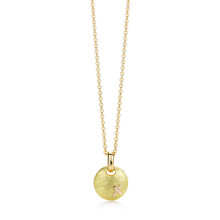 Tiffany & Co Hammered Disc Pendant by Paloma Picasso