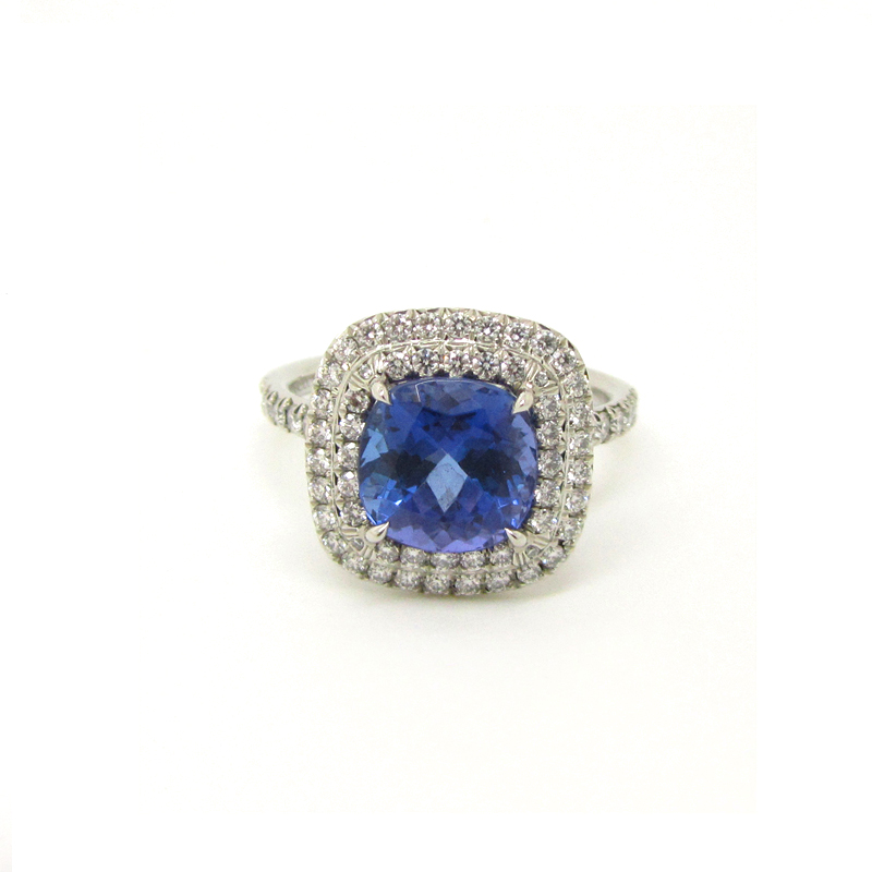ring yellow of sea tanzanite tiffany blue with the art gold carat in jewelry high book white statement and a
