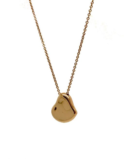 Tiffany co full heart pendant by elsa peretti in 18k rose gold aloadofball Images