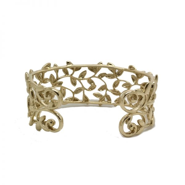 0e8922a26 Tiffany & Co. Olive Leaf Cuff Bracelet by Paloma Picasso in 18k ...