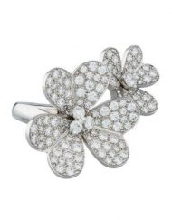 Van Cleef & Arpels Frivole Between the Finger Ring with Diamonds (1)