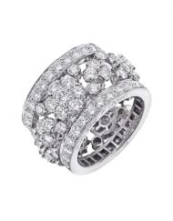 van cleef and arpels snowflake ring