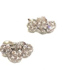 van cleef and arpels snowflaked diamond earrings