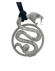 Boucheron Trouble Pendant 18k white gold with diamonds (5)