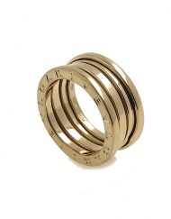 Bvlgari B Zero 1 Yellow Gold 3 Row Ring size 52 (2)