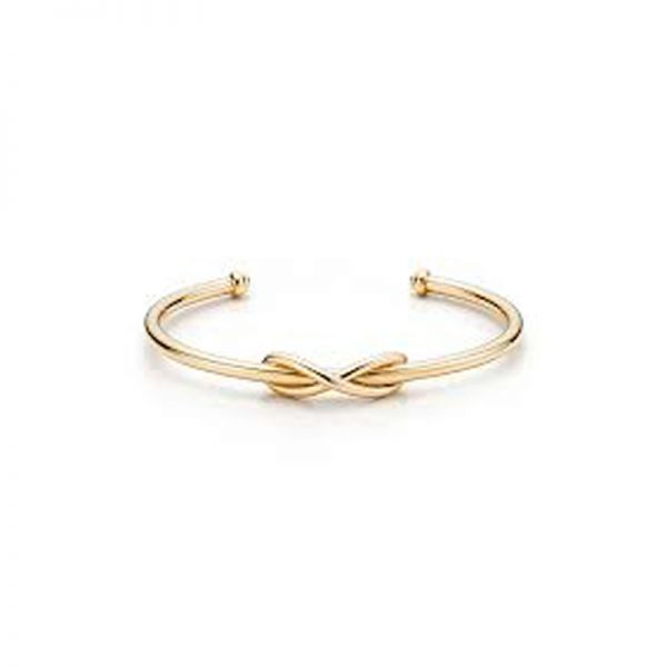 d20141c2c6735 Tiffany   Co. Infinity Cuff Bracelet 18k Yellow Gold