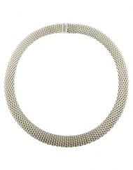 Tiffany & Co Somerset Mesh Collar Necklace (2)