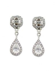 Messika My Twin Toi et Moi 18k White gold Diamond Earrings 6504